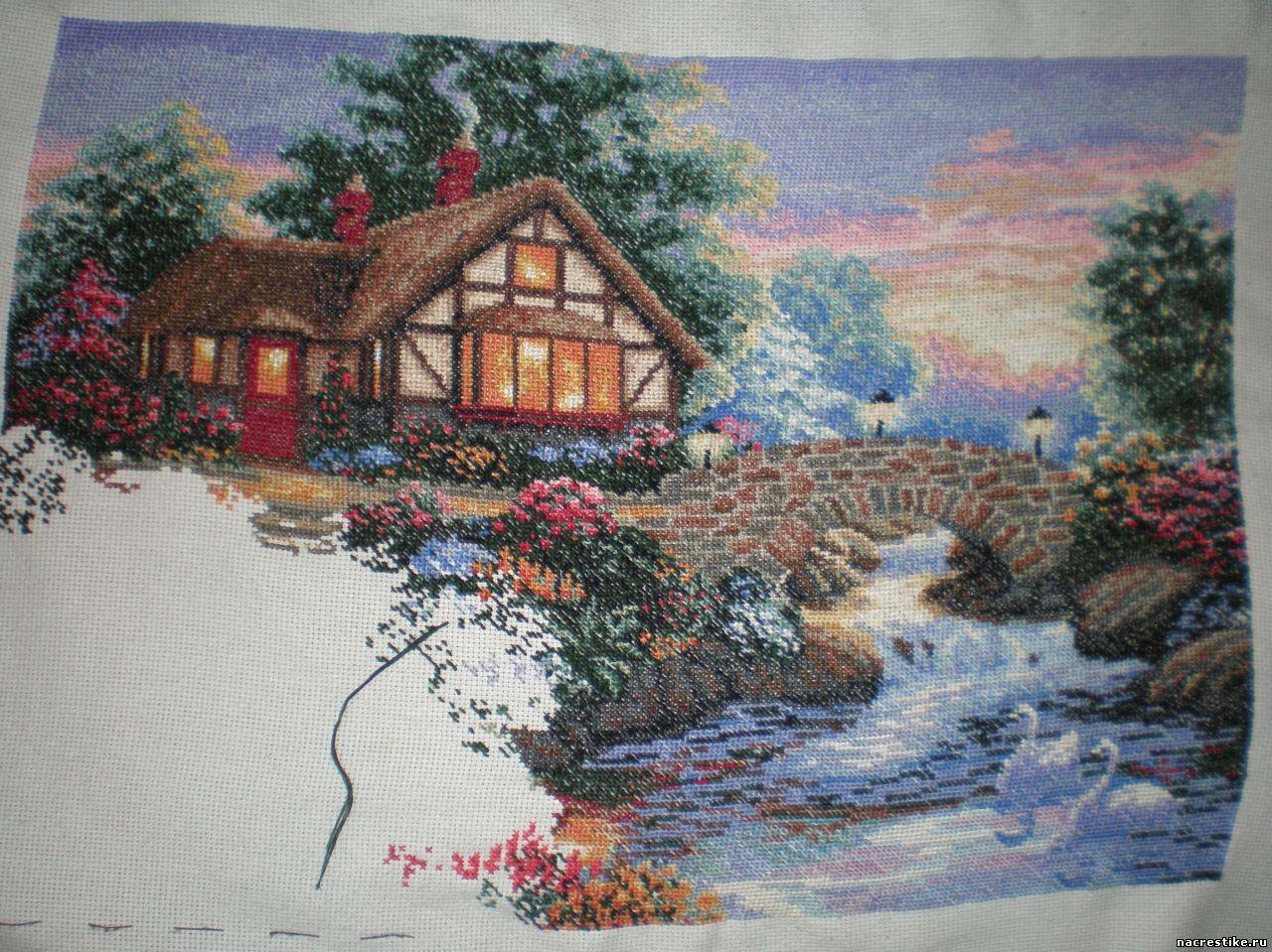 Вышиваем дом своей мечты схема