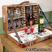 бар из чемодана