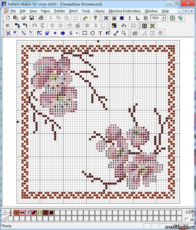 Программы для создания схем для вышивки.