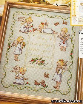 Схема вышивки крестом Ангелы (Детские метрики) Чувствую, что одними слётами и конференциями дело не ограничиться.