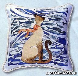Вышивка крестом кошек схемы