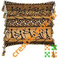 Подушка «Наскальный рисунок» -2 - схема вышивки
