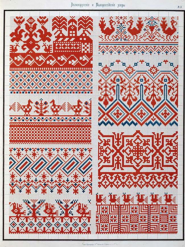 русские орнаменты и узоры: жар-птицы